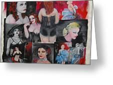 Big City Burlesque 1 Greeting Card