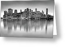 Big City Reflections Greeting Card