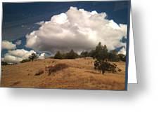 Big Cloud Greeting Card