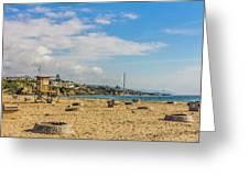 Big Corona Beach Greeting Card