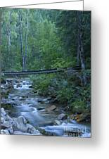 Big Creek Bridge Greeting Card