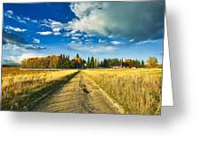 Big Creek Ranch Greeting Card