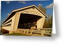 Big Darby Creek Covered Bridge Greeting Card