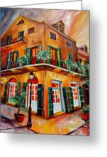 Big Easy Sunset Greeting Card