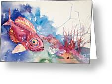 Big Eye Squirrelfish Greeting Card