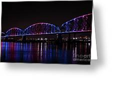 Big Four Bridge 2217 Greeting Card