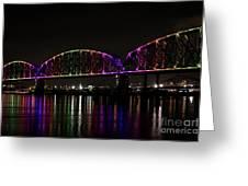 Big Four Bridge 2219 Greeting Card