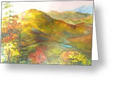 Big Hill Vista Greeting Card