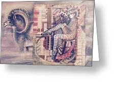 Big Horn Dancer Greeting Card