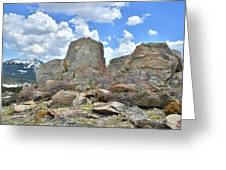 Big Horn Mountains In Wyoming Greeting Card