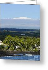 Big Island, Hilo Bay Greeting Card