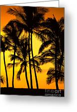 Big Island, View Greeting Card