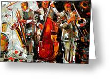 Big Jazz Greeting Card