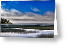Big Lagoon Park California Greeting Card