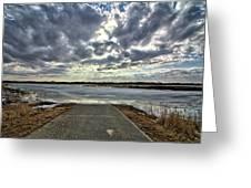 Big Marsh Ramp Greeting Card