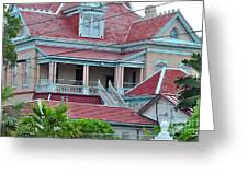 Big Money Moves Into Key West  Greeting Card