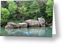 Big Piney Creek 1 Greeting Card by Marty Koch