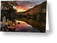 Big Piney Sunset Greeting Card