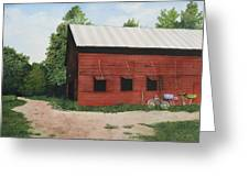 Big Red Barn Greeting Card