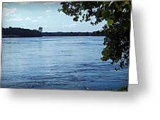 Big River Greeting Card