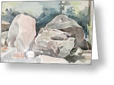 Big Rocks Greeting Card