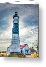 Big Sable Light On Lake Michigan Greeting Card