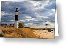 Big Sable Lighthouse #2 Greeting Card