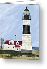 Big Sable Michigan Greeting Card