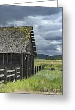 Big Sky Cabin Greeting Card
