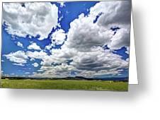 Big Sky Greeting Card