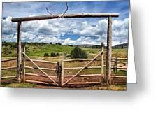 Black Mountain Ranch Greeting Card