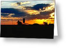 Big Sky Texas Style Greeting Card