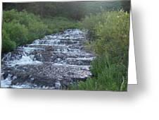 Big Springs Waterfall Greeting Card