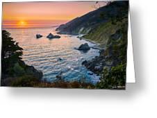 Big Sur Evening Greeting Card