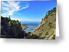 Big Sur Partington Cove Greeting Card