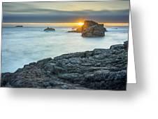 Big Sur Seascape Greeting Card