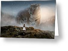 Big Tiger Greeting Card