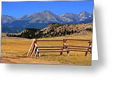 Big Timber Canyon Greeting Card