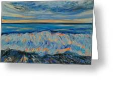 Big Wave After Storm Greeting Card