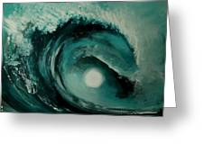 Big Wave Greeting Card