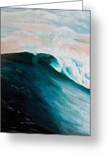 Big Wave Greeting Card