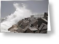 Big Waves IIi Greeting Card