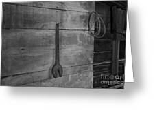 Big Wrench Mister Greeting Card