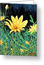 Big Yellow Greeting Card
