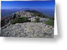 Bigelow Mountain Ridge Greeting Card