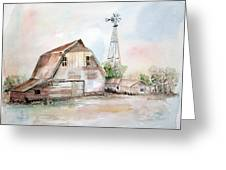 Bigelow's Barn Greeting Card