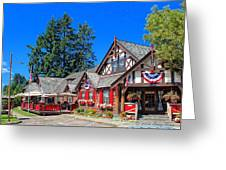 Bigfork Inn Greeting Card