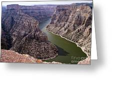 Bighorn Canyon Greeting Card