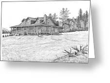 Bigness House Greeting Card