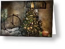 Bike - I Wanna Bike For Christmas  Greeting Card
